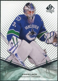 2011/12 Upper Deck SP Authentic Rookie Extended #R93 Eddie Lack