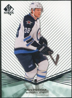 2011/12 Upper Deck SP Authentic Rookie Extended #R98 Paul Postma