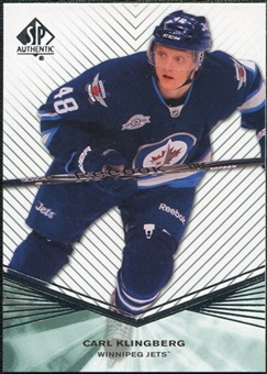 2011/12 Upper Deck SP Authentic Rookie Extended #R99 Carl Klingberg