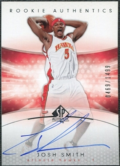 2004/05 Upper Deck SP Authentic #171 Josh Smith Autograph /1499