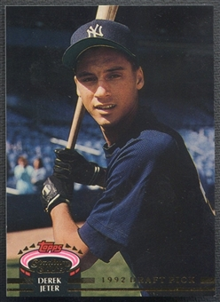 1993 Stadium Club Murphy #117 Derek Jeter Rookie