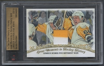 2012/13 In The Game History of Hockey Mario Lemieux Jersey #03/10