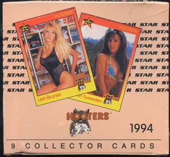 Hooters 36-Pack Box (1994 Star)