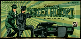 1966 Donruss Green Hornet Display Box