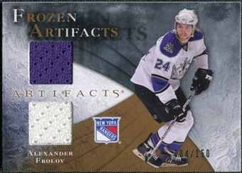 2010/11 Upper Deck Artifacts Frozen Artifacts #FAAF Alexander Frolov /150