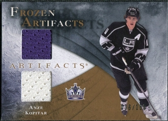 2010/11 Upper Deck Artifacts Frozen Artifacts #FAAK Anze Kopitar /150