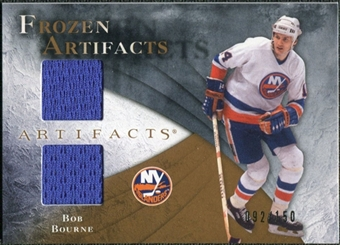 2010/11 Upper Deck Artifacts Frozen Artifacts #FABB Bob Bourne /150