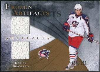 2010/11 Upper Deck Artifacts Frozen Artifacts #FABR Derick Brassard /150