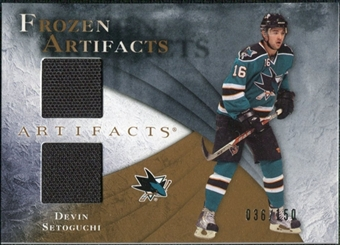 2010/11 Upper Deck Artifacts Frozen Artifacts #FADS Devin Setoguchi /150
