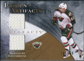 2010/11 Upper Deck Artifacts Frozen Artifacts #FAGL Guillaume Latendresse /150