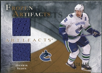2010/11 Upper Deck Artifacts Frozen Artifacts #FAHS Henrik Sedin /150