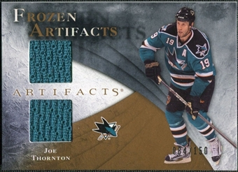 2010/11 Upper Deck Artifacts Frozen Artifacts #FAJT Joe Thornton /150