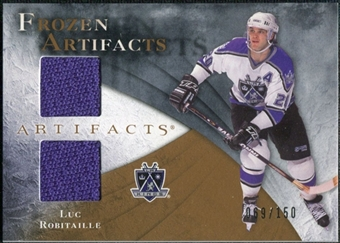 2010/11 Upper Deck Artifacts Frozen Artifacts #FALR Luc Robitaille /150
