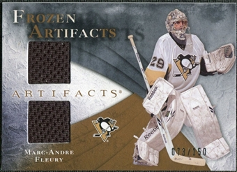 2010/11 Upper Deck Artifacts Frozen Artifacts #FAMF Marc-Andre Fleury /150