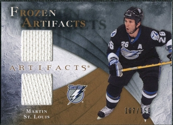 2010/11 Upper Deck Artifacts Frozen Artifacts #FAMS Martin St. Louis /150