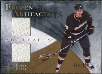 2010/11 Upper Deck Artifacts Frozen Artifacts #FAPE Corey Perry /150