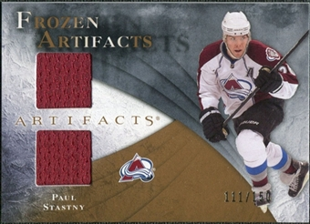 2010/11 Upper Deck Artifacts Frozen Artifacts #FAPS Paul Stastny /150