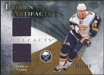 2010/11 Upper Deck Artifacts Frozen Artifacts #FATV Thomas Vanek /150