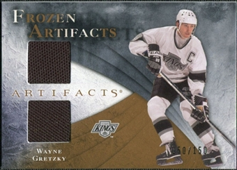 2010/11 Upper Deck Artifacts Frozen Artifacts #FAWG Wayne Gretzky /150