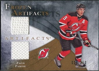 2010/11 Upper Deck Artifacts Frozen Artifacts #FAZP Zach Parise /150