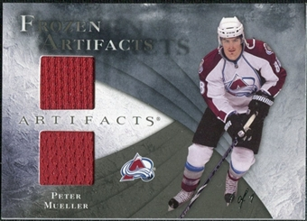 2010/11 Upper Deck Artifacts Frozen Artifacts Black #FAMU Peter Mueller 1/1
