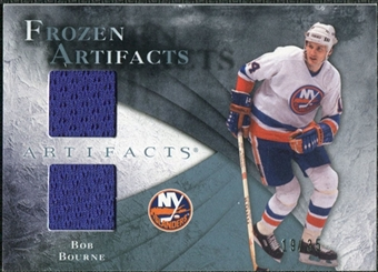 2010/11 Upper Deck Artifacts Frozen Artifacts Blue #FABB Bob Bourne /35