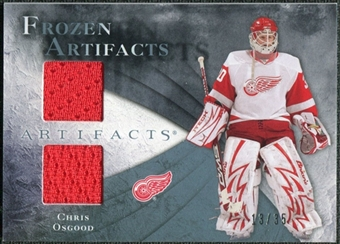 2010/11 Upper Deck Artifacts Frozen Artifacts Blue #FACO Chris Osgood 13/35