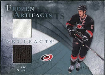 2010/11 Upper Deck Artifacts Frozen Artifacts Blue #FAES Eric Staal 6/35