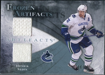 2010/11 Upper Deck Artifacts Frozen Artifacts Blue #FAHS Henrik Sedin 6/35