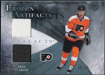 2010/11 Upper Deck Artifacts Frozen Artifacts Blue #FAJC Jeff Carter 8/35