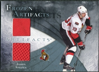 2010/11 Upper Deck Artifacts Frozen Artifacts Blue #FAJS Jason Spezza 4/35