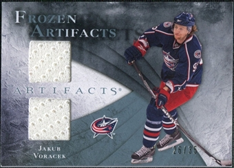 2010/11 Upper Deck Artifacts Frozen Artifacts Blue #FAJV Jakub Voracek 26/35
