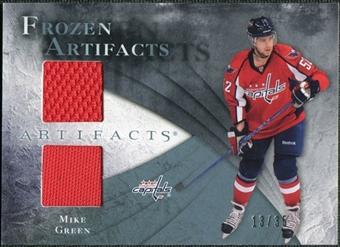 2010/11 Upper Deck Artifacts Frozen Artifacts Blue #FAMG Mike Green /35