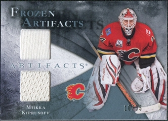 2010/11 Upper Deck Artifacts Frozen Artifacts Blue #FAMK Miikka Kiprusoff 10/35
