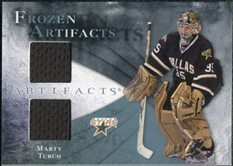 2010/11 Upper Deck Artifacts Frozen Artifacts Blue #FAMT Marty Turco 13/35