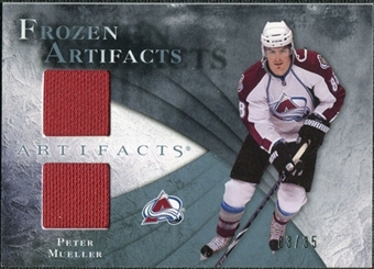 2010/11 Upper Deck Artifacts Frozen Artifacts Blue #FAMU Peter Mueller 3/35