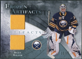 2010/11 Upper Deck Artifacts Frozen Artifacts Blue #FARM Ryan Miller 11/35