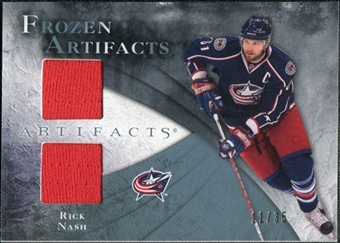 2010/11 Upper Deck Artifacts Frozen Artifacts Blue #FARN Rick Nash 11/35