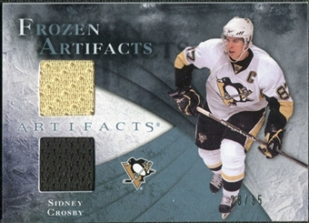 2010/11 Upper Deck Artifacts Frozen Artifacts Blue #FASC Sidney Crosby /35