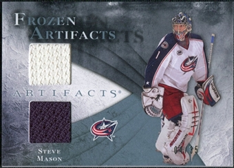 2010/11 Upper Deck Artifacts Frozen Artifacts Blue #FASM Steve Mason /35