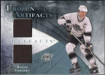 2010/11 Upper Deck Artifacts Frozen Artifacts Blue #FAWG Wayne Gretzky 21/35