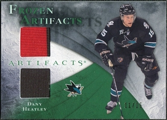 2010/11 Upper Deck Artifacts Frozen Artifacts Emerald #FADH Dany Heatley 11/15