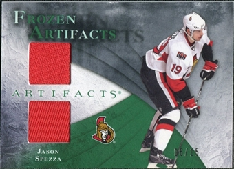 2010/11 Upper Deck Artifacts Frozen Artifacts Emerald #FAJS Jason Spezza 6/15