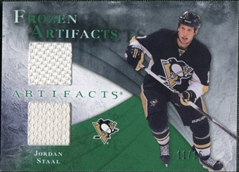 2010/11 Upper Deck Artifacts Frozen Artifacts Emerald #FAJO Jordan Staal 11/15