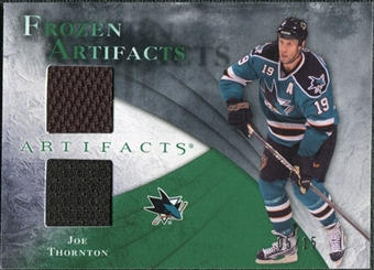 2010/11 Upper Deck Artifacts Frozen Artifacts Emerald #FAJT Joe Thornton /15