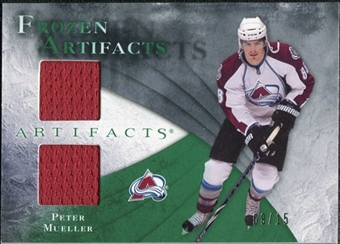 2010/11 Upper Deck Artifacts Frozen Artifacts Emerald #FAMU Peter Mueller 9/15