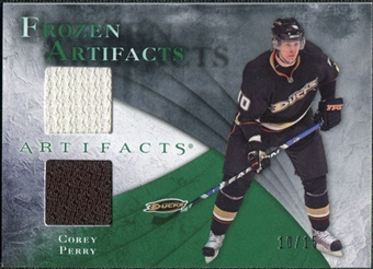 2010/11 Upper Deck Artifacts Frozen Artifacts Emerald #FAPE Corey Perry 10/15