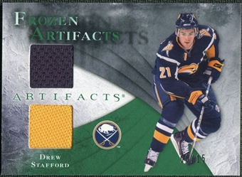 2010/11 Upper Deck Artifacts Frozen Artifacts Emerald #FAST Drew Stafford 8/15