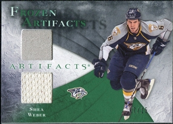 2010/11 Upper Deck Artifacts Frozen Artifacts Emerald #FASW Shea Weber 7/15
