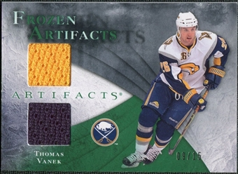 2010/11 Upper Deck Artifacts Frozen Artifacts Emerald #FATV Thomas Vanek 9/15